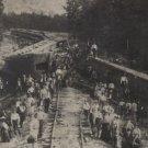 1909 Kirbyville Texas Train Wreck 8 X 10 BW Photo