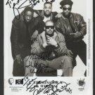 1994 Signed Photo Whodini Terminator X  Jalil Master D