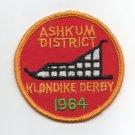 Vintage 1964 Ashkum District Klondike Derby Calumet