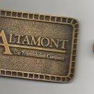 Altamont Gas Transmission Company Belt Buckle