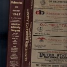 1967 Galveston City Directory Texas RL Polk