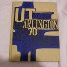 1970 University of Texas Arlington Yearbook Reveille