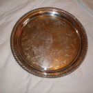 1965 Silver Plate Lioness Club President Tray