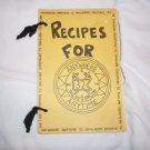 Vintage DesRon 32 (Destroyer Squadron) Cookbook