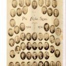 1934-35 Epsilon Phi Alpha Sigma UTMB Medical Fraternity