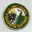 Vintage 1968 Calumet Council Conservation Good Turn