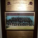1997 Robert E. Lee Baytown Texas Football Plaque Champs