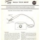 Vintage NASA Tech Brief Nail Hematomas in Astronauts