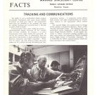 Vintage NASA Facts Tracking and Communications