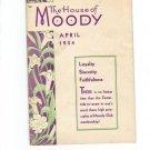 April 1934 House of Moody Galveston Texas