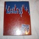 1972 Bedford Texas Jr High School Broncos Yearbook