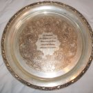 1959 Silver Plate University of Texas Medical Branch