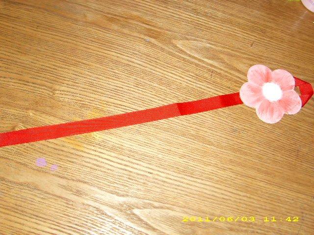flower bow/ clippie holder