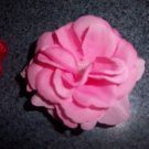 double stacked rose bow/ clippie