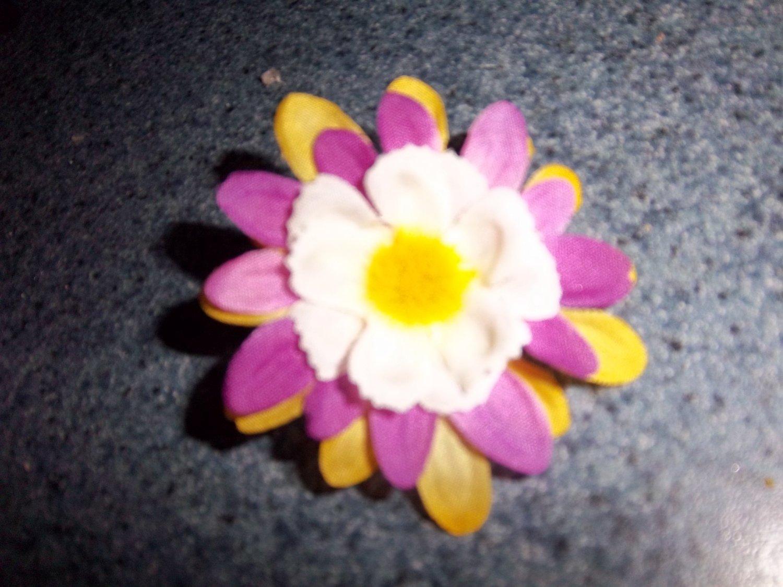 flower bow/ clippie