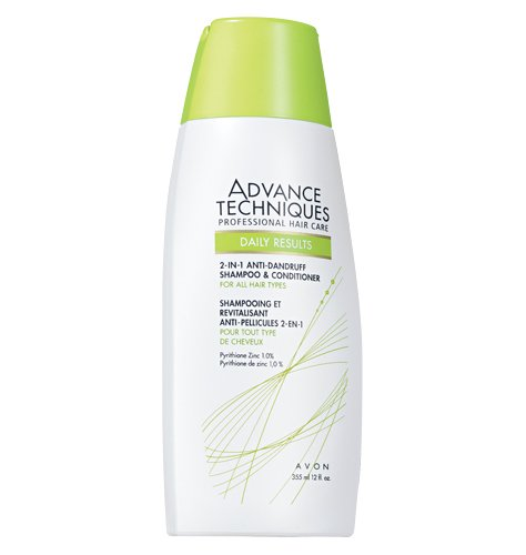 ADVANCE TECHNIQUES 2-in-1 Anti-Dandruff Shampoo & Conditoner