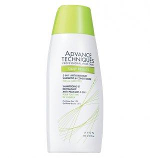 ADVANCE TECHNIQUES 2-in-1 Anti-Dandruff Shampoo & Conditoner