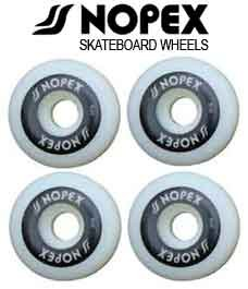 Nopex Skateboards Wheels Set Blank Decks Deck Black 50