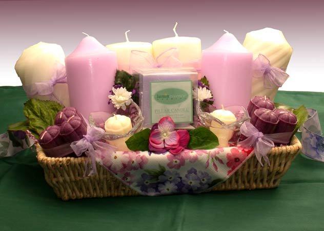 Springtime Candle Garden