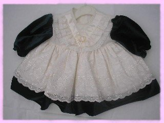 Velvet/Broderai Anglaise Party Occasion Dress 9 Months