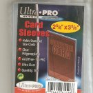 NEW LOWER PRICE!! Packs of Ultra Pro Soft Penny Sleeves 100 Pack Magic,Yugioh TCG