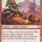 Playset Goblin Archaeologist  Darksteel Magic The Gathering