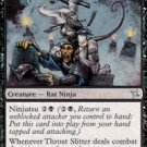 Playset Throat Slitter Betrayers of Kamigawa Magic The Gathering
