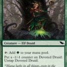 Playset Devoted Druid Shadowmoor Magic The Gathering