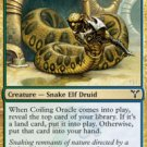 Playset Coiling Oracle Dissension Magic The Gathering