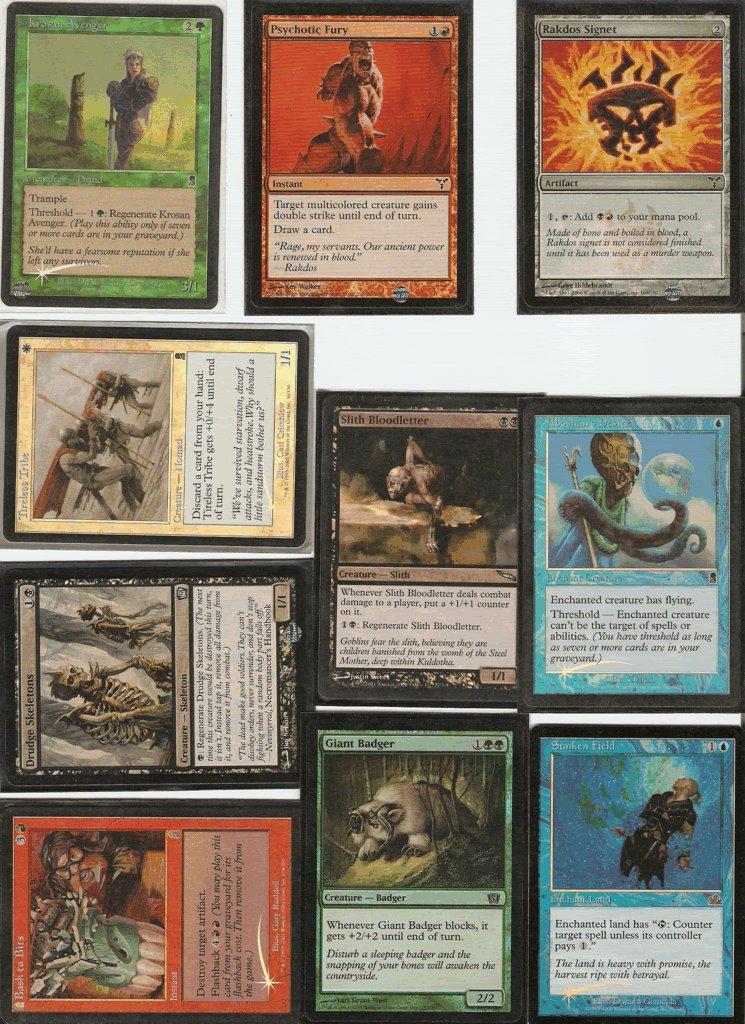 Lot of 6000+ Magic The Gathering Cards with Rares,foils, Alpha/beta