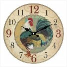 COUNTRY ROOSTER WALL CLOCK..New!