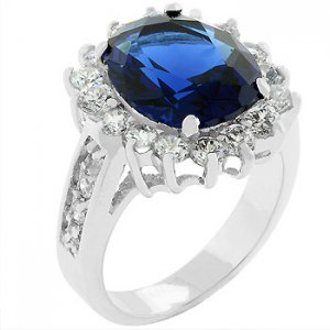 THE ROYAL RING...Blue Elegance!