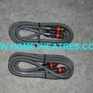 Rs 1400 Custom Built High Quality High Guage 2 Way RCA Cable 1 Meters
