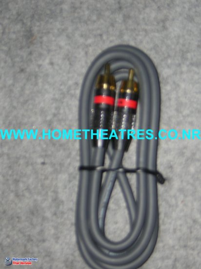 Rs 800 Custom Built High Quality High Guage Subwoofer Cable 1 Meters