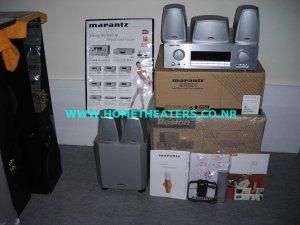 Rs 35700 Marantz SR301 AV Receiver & Boston Acoustics MS 4000S 5.1 Home Theatre Systems