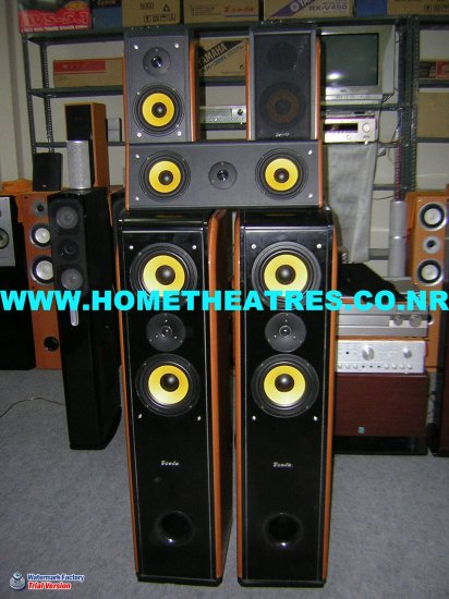 Rs 18900 Esota 5 Speaker Package(Clearance Sale)