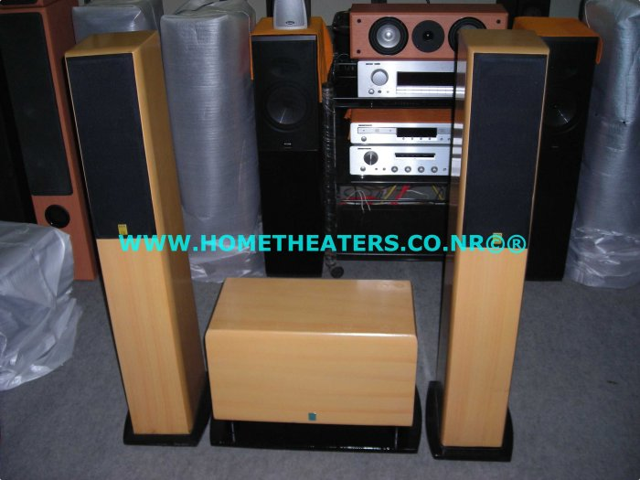 "Rs 7000 Rave Acoustics 2 Way Towers with 8"" x 2 Passive Subwoofer(Old UnSold Stock Clearance Sale)"