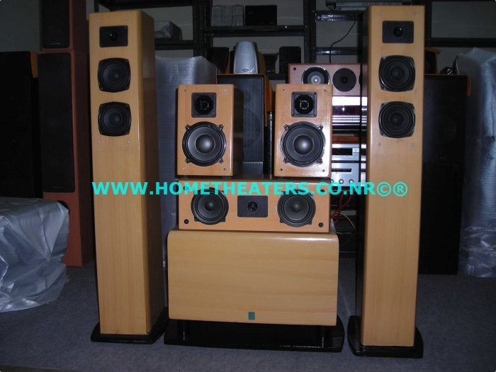 "Rs 10000 Rave Acoustics 5 Speaker Pack with 8"" x 2 Passive Subwoofer(Old Stock Clearance Sale)"