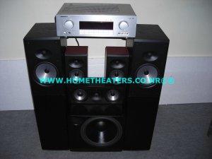 Rs 94100 Marantz SR4001 7.1 AV Receiver Boston Acoustics CR97 CRC7 CR57 XB2 5.1 Home Theatre Systems