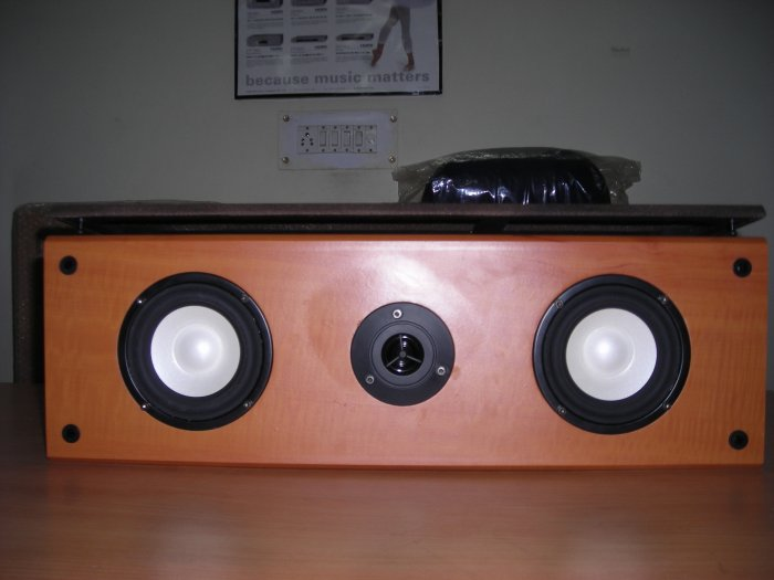 Rs 4000 Esota Teak Center Speaker(Clearance Sale)