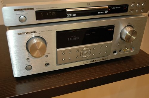 Rs 45000 Marantz SR5001 HDMI HDCD Second Zone LipSync RS232 90 RMS x 7 7.1 AV Receiver