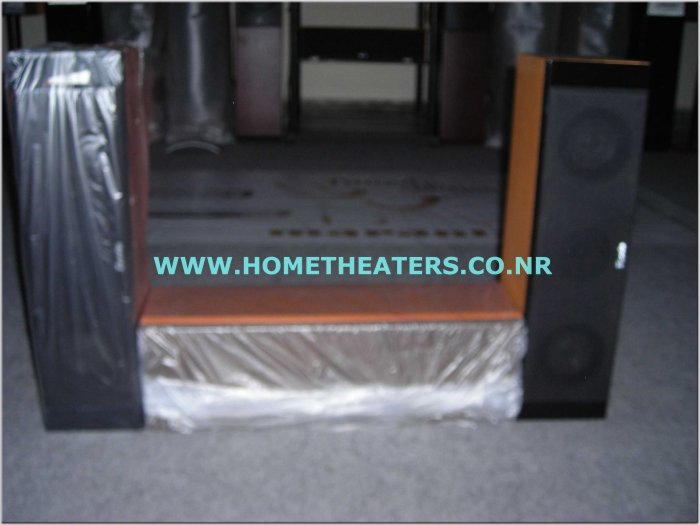 Rs 9000 Set of 3 Esota Black & Teak Center Speakers(LCR) (Clearance Sale)