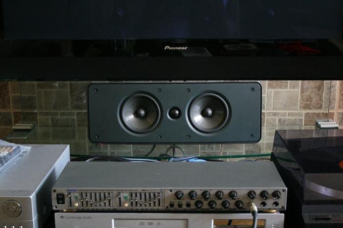 "Rs 11900 Boston Acoustics HS225 100 RMS 1"" Tweeter 5.25""x2 DCD Woofers w/Phase Plugs Center Speaker"