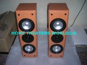 "Rs 13600 Marantz LS6000C ~5"" x 2 100 Watts 20"" Tall LCR Bookshelf Mini Tower Speakers"