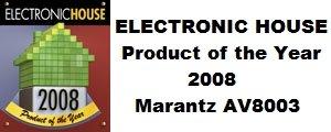 Rs 140250 Marantz AV8003 THX Ultra 2 Dolby True-HD DTS-HD DLNA Certified Network 7.1 Processor