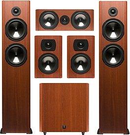 """Rs 68850 Boston Acoustics Classic CS226 CS225C CS23 with Sub 10 10"""" Subwoofer 5.1 Speakers"""