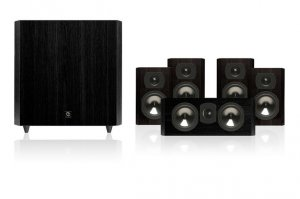 "Rs 40500 Boston Acoustics CS2310 with 10"" Subwoofer Bookshelf 5.1 Speakers"
