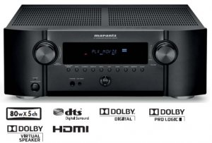 Rs 20000 Marantz SR3053 M1 Design HDMI 170 RMS@6 Ohm X 5 5.1 AV Receiver