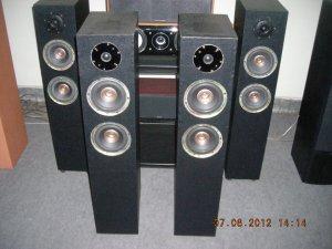 """Rs 7000 1"""" Tweeter 6"""" Woofer x 2 2 Way 120 Watts RMS Tower Speaker"""