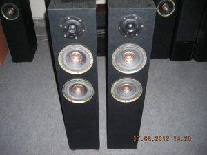 """Rs 6000 1"""" Tweeter 6"""" Woofer x 2 2 Way 120 Watts RMS Tower Speaker"""